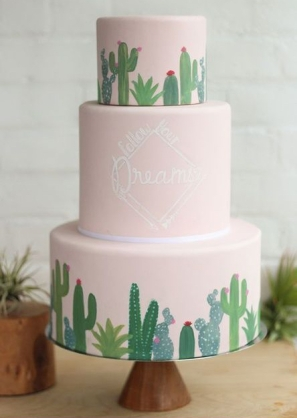 Wedding cake Cactus