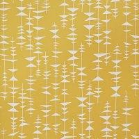 papier peint moutarde au fil des couleurs