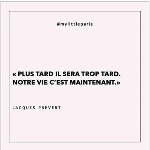 Citation Jacques Prévert changement de vie