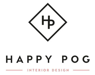 Logo Happy POG société de conseil en décoration d'intérieur et design d'espace