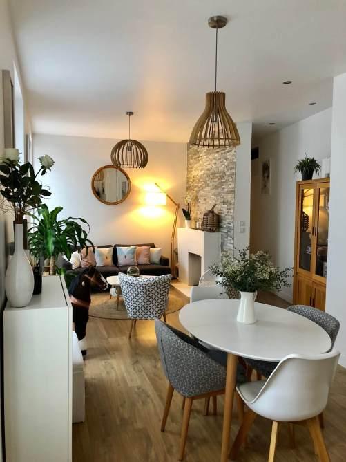 salon salle à manger scandinave