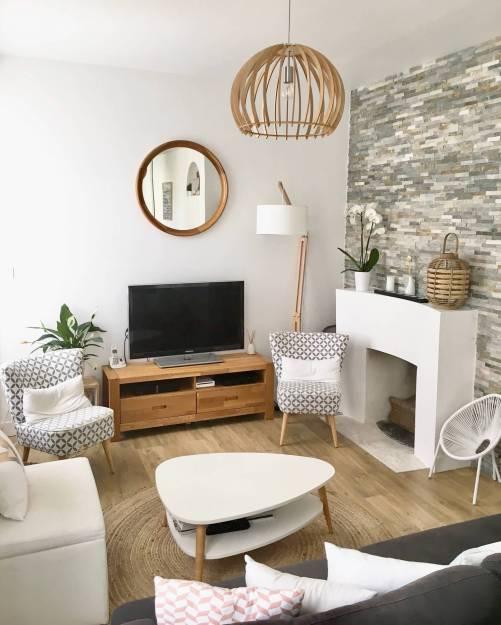 aménagement salon tendance scandinave