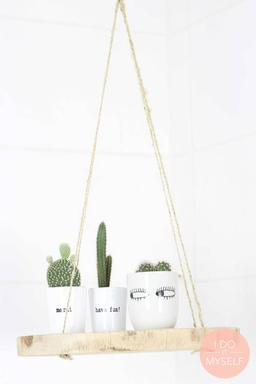 DIY plante suspendue par Céline du blog déco IDOITMYSELF