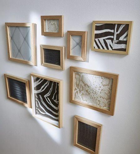 differents papiers peints dans des cadres