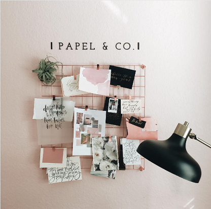 moodboard papier peint papel and co