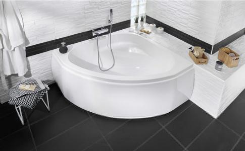 baignoire d'anglais lapeyre salle de bain blanche et noire