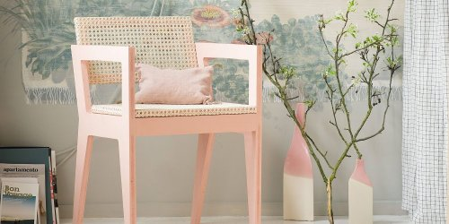 diy chaise en bois cannage marie claire idees