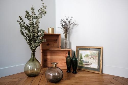 décoration tendance de l'appartement d'agathe