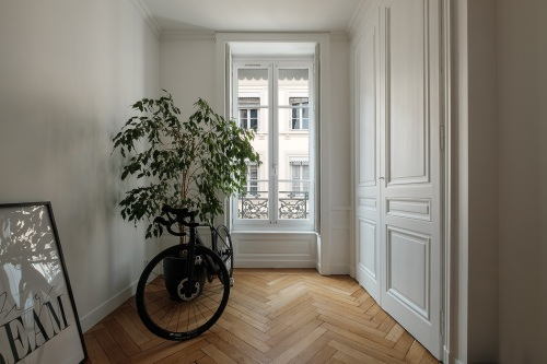 Entrée de l'appartement