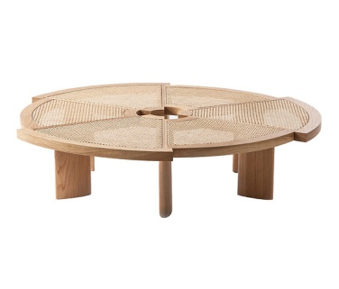 table-cassina-cannage-charlotte-perriand-rio-souslespaveslespalmiers 2