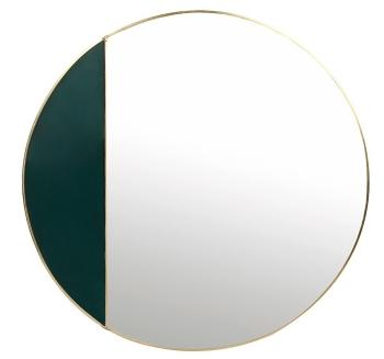 miroir-rond-vert-klevering-fleux