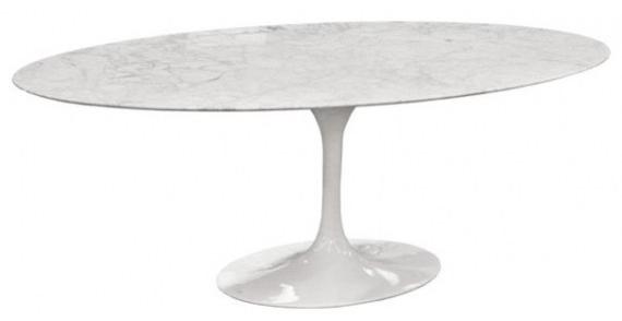 Table salle à manger ovale Tulip Knoll Eeno saarinen