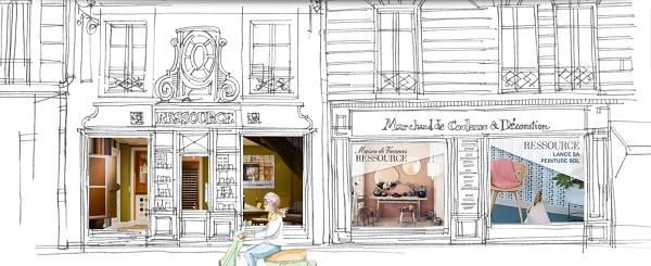 devanture boutique ressource peintures happy pog