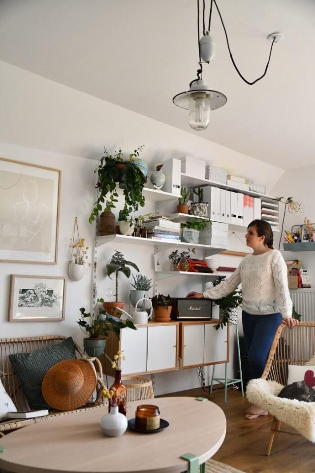 Reportage décoration d'intérieur chez Marion en Bretagne