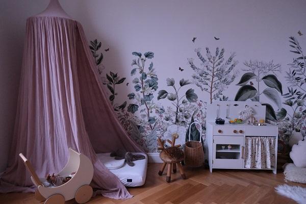 reportage déco chez Chloé & you, photo de la chambre enfant