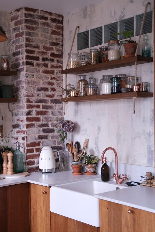 reportage déco chez Chloé & you, photo de la cuisine