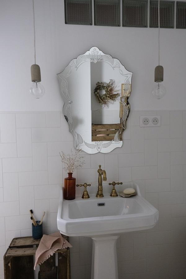 reportage déco chez Chloé & you, photo de la salle de bain