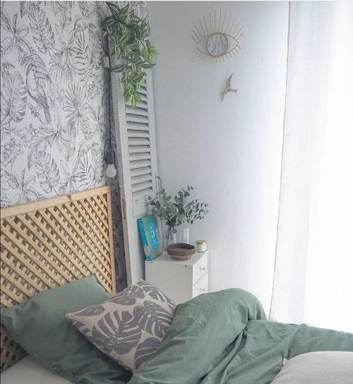 papier peint jungle chambre chez adeline