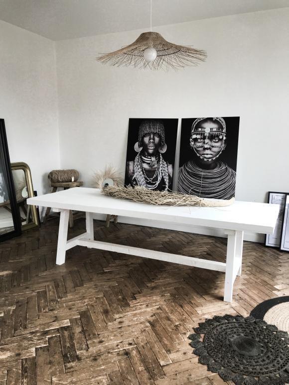 table de salle à manger chez rachel styliste
